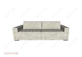 沙发000147-SketchUp草图大师模型