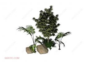 植物000380-SketchUp草图大师模型