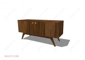 电视柜00031-SketchUp草图大师模型