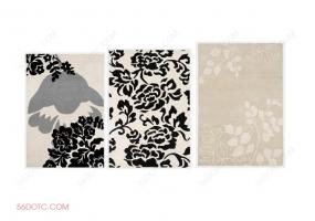 布艺00098-SketchUp草图大师模型:地毯