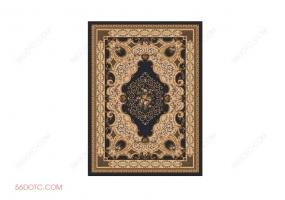 布艺000102-SketchUp草图大师模型:地毯