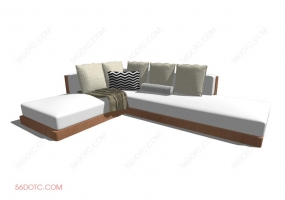 沙发000153-SketchUp草图大师模型