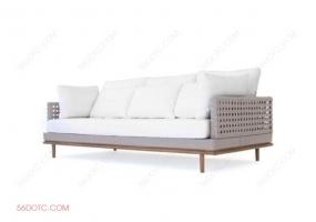沙发000155-SketchUp草图大师模型