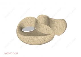 沙发000157-SketchUp草图大师模型