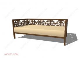 沙发000158-SketchUp草图大师模型
