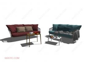 沙发000159-SketchUp草图大师模型