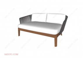 沙发000161-SketchUp草图大师模型