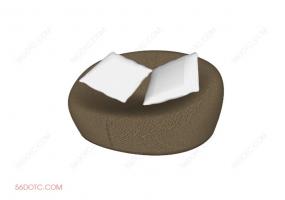 沙发000162-SketchUp草图大师模型