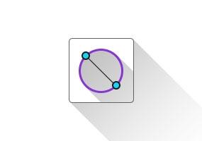 Circle From Edge(两点画圆)SketchUp插件 草图大师中文插件