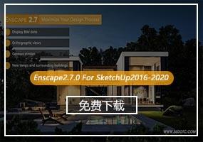 Enscape V2.7.0英文版(支持SketchUp2016-2020)