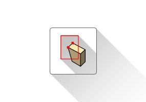 T2H Stretch by Area(框选拉伸)SketchUp中文插件 草图大师中文插件