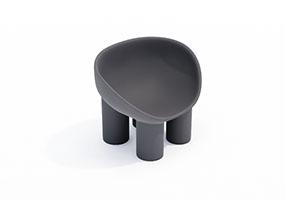 椅子000108-SketchUp草图大师模型_Enscape材质