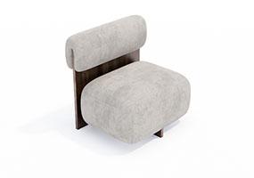椅子000110-SketchUp草图大师模型_Enscape材质