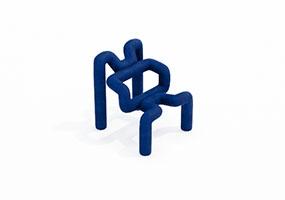 椅子000115-SketchUp草图大师模型_Enscape材质