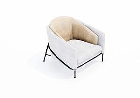 椅子000132-SketchUp草图大师模型_Enscape材质
