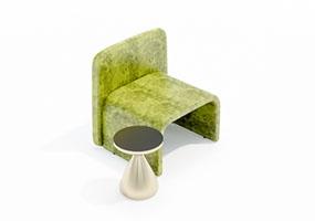 椅子000133-SketchUp草图大师模型_Enscape材质