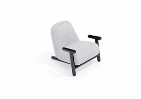 椅子000138-SketchUp草图大师模型_Enscape材质