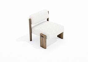 椅子000139-SketchUp草图大师模型_Enscape材质