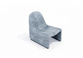 椅子000143-SketchUp草图大师模型_Enscape材质