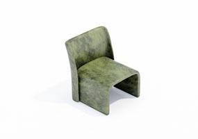 椅子000146-SketchUp草图大师模型_Enscape材质